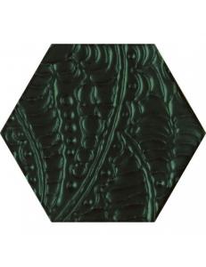 Paradyz Urban Colours Green Inserto Szklane Heksagon 19,8 x17,1