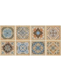 Плитка Porcelanite DOS Вставка (10x10) TACO 1503 TIERRA