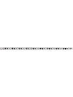 Плитка STN Alessia Listello Plata Brillo 0,8x30