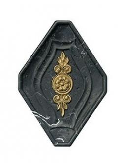 Плитка STN Orion Inserto Pegaso Negro 15x11,5