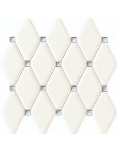 Tubadzin Mozaika scienna Abisso white  29,8x27