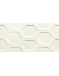 Tubadzin All in white Sciena White 1 STR 29,8 x 59,8