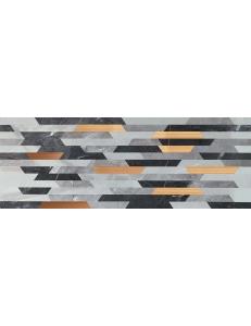 Tubadzin Brainstorm grey  Dekor 32,8x89,8
