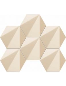 Tubadzin Chenille Beige Hex Mozaika 28,9x22,1