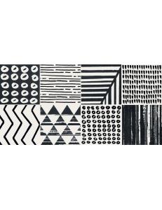 Tubadzin Colori dekor scienny patchwork 2 29,8x59,8