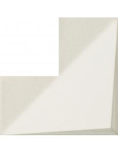 Tubadzin Coma white STR 20x20