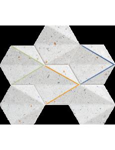 Tubadzin Mozaika Dots grey 29,8x22,1