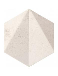 Tubadzin Free Space Hex White STR Dekor 11x12,5