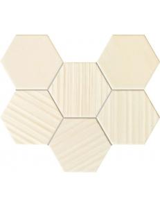 Tubadzin Horizon Ivory Hex Mozaika 28,9x22,1