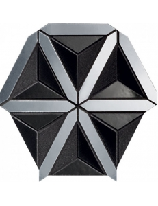 Tubadzin Mozaika Lucid black 20,5x18,6