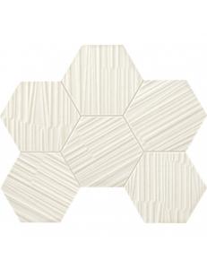 Tubadzin Mozaika Mareda white 28,9x22,1