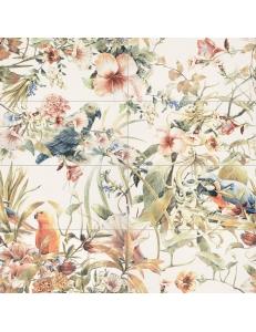 Tubadzin Modern Pearl parrots Obraz scienny 8-elementowy 119,8x119,8