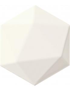 Tubadzin Origami white hex 11x12,5