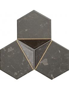 Tubadzin Scoria mozaika scienna black 1 19,2x16,5