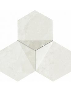 Tubadzin Scoria mozaika scienna white  19,2x16,5