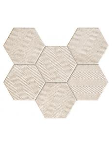 Tubadzin Sfumato Mozaika Scienny Hex 28,9x22,1