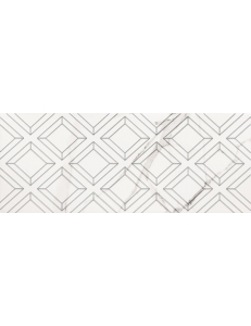 Tubadzin Vienna Decor White STR 29.8x74.8