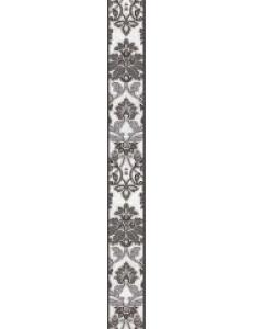 Бордюр Capriccio вертикальный серый / БВ 156 071