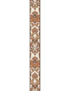 Бордюр Capriccio вертикальный корич / БВ 156 031