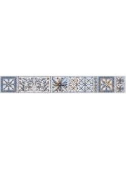 Бордюр Viva вертикальный серый / БВ 145 071-1