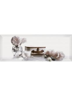 Плитка Pergamo декор белый / Д 123061-2