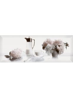 Плитка Pergamo декор белый / Д 123061-3