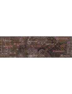 PANTAL бордюр наполь красно-корич / БН 85 022