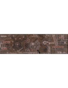 PANTAL бордюр наполь красно-корич / БН 85022-1