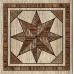 Плитка MASSIMA декор напольный коричневый / ДН 57 031