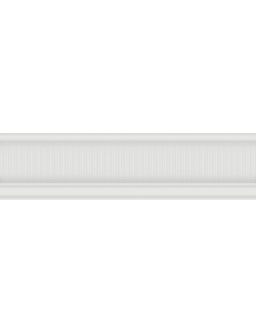 ARABESCO бордюр узкий белый / БУ 131 061