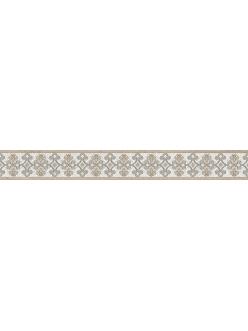 Плитка DOLORIAN бордюр вертик. серый / БВ 113071-1