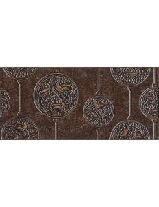 NOBILIS декор коричневый тёмный / Д 68032