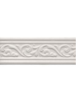 Плитка ARABESCO бордюр широкий белый / БШ 131061