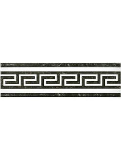 Плитка ALON бордюр напольный серый / 43х13,7  БН 39 071