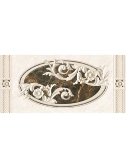 Плитка FENIX декор серый / Д 93071-1