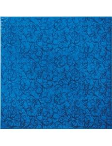BRINA пол синий / 35х35 23 052