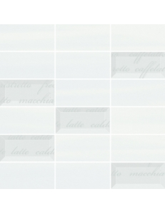 Chiara MOZAIKA SZKLANA MIX Bianco/Azul 29,8 x 29,8