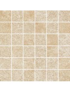 Flash Bianco 29,8 x 29,8 MOZAIKA CIĘTA (kostka 4,8 x 4,8) półpoler