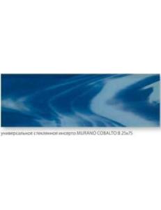 INSERTO SZKLANE MURANO Cobalto B 25 x 75