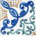Вставка Капри майолика STGA487