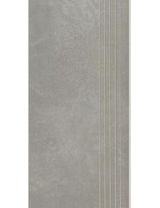 Cement Grafit STOPNICA NACINANA lappato 29,8 x 59,8