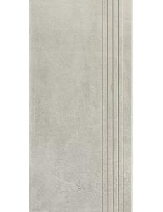 Cement Grys STOPNICA NACINANA lappato 29,8 x 59,8