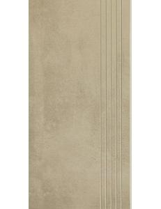 Cement Ochra STOPNICA NACINANA lappato 29,8 x 59,8