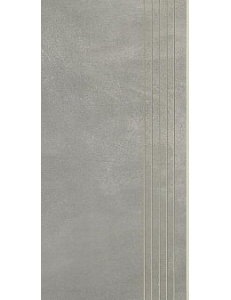 Cement Grafit STOPNICA NACINANA mat 29,8 x 59,8