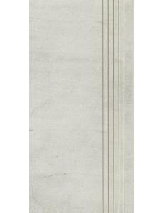 Cement Grys STOPNICA NACINANA mat 29,8 x 59,8