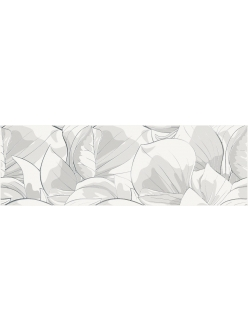 Flower Cemento White Inserto Декор