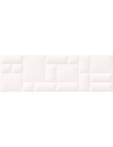 Opoczno Pillow Game White Structure