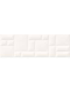 Opoczno Pillow Game White Structure