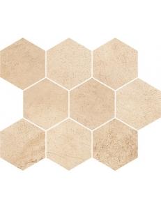 Sahara Desert Mosaic Hexagon Мозаика