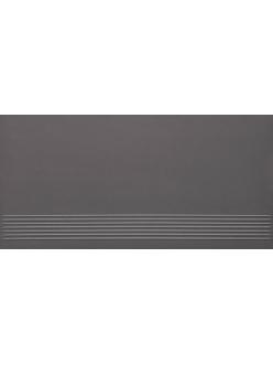 Плитка Paradyz Doblo Grafit Stopnica Satyna 29,8 x 59,8